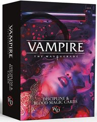 Vampire: The Masquerade - Blood Sorcery and Discipline Card Decks