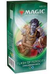Колода Challenger Deck 2020 - Flash of Ferocity Magic The Gathering