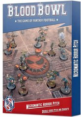 Blood Bowl Necromantic Horror Pitch – Double-sided Pitch and Dugouts