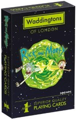 Карты игральные Waddingtons Рик и Морти. Rick & Morty Playing Cards