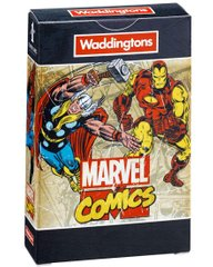 Карты игральные Waddingtons Number 1 Marvel Retro Comics Playing Cards