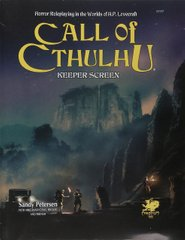 Call of Cthulhu Keeper Screen Pack (7th ed.)