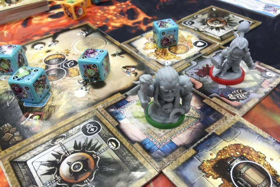 Настольная игра Masmorra: Dungeons of Arcadia (Масморра ...