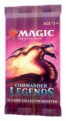 Commander Legends Collector Booster - бустер Magic The Gathering АНГЛ