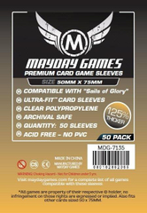 Протекторы Mayday (50x75 mm) Premium Sails of Glory (50 шт)