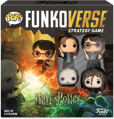 Funkoverse Strategy Game: Harry Potter #100 4-Pack