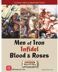 Men of Iron Tri-Pack: Men of Iron, Infidel, and Blood & Roses