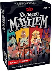 Dungeon Mayhem Dungeons & Dragons Card Game