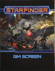 Starfinder RPG: Gamemaster Screen