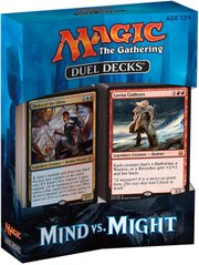 Дуэльный набор Duel Decks: Mind vs. Might - Magic The Gathering