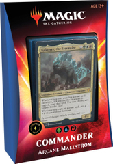 Commander Deck Arcane Maelstrom - Ikoria Lair of Behemoths Magic The Gathering