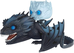 Король Ночи на Визерионе - Funko POP Game Of Thrones: NIGHT KING & ICY VISERION DRAGON