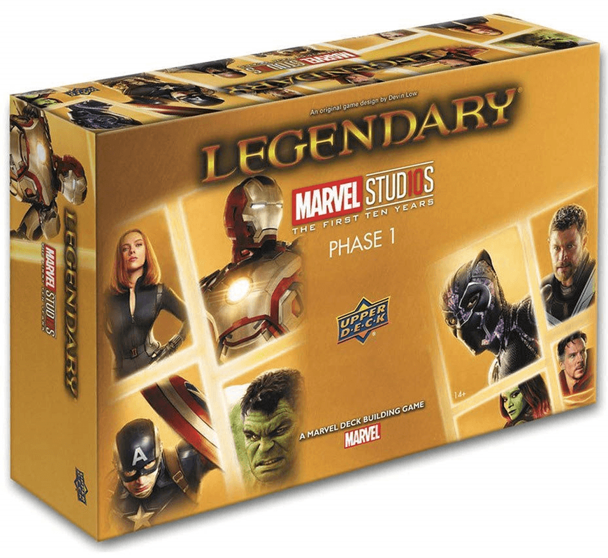 Legendary: Marvel Deck Building Game - Marvel Studios the First Ten Years - Phase 1 (ДЕФЕКТ)