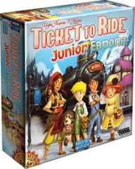 Билет на поезд Junior: Европа (Ticket to Ride)