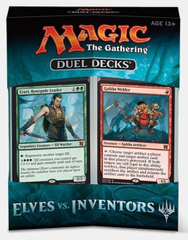 Дуэльный набор Duel Decks: Elves vs. Inventors Magic The Gathering