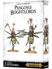 Nurgle Rotbringers Pusgoyle Blightlords Age of Sigmar