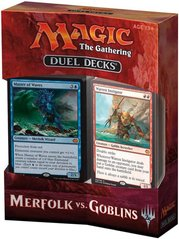 Дуэльный набор Duel Decks: Merfolk vs. Goblins Magic The Gathering