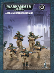 Easy To Build Astra Militarum Cadians Warhammer 40000