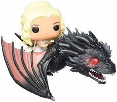 Дейнерис на Дрогоне - Funko POP Rides: Game of Thrones - Dragon & Daenerys