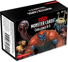 Dungeons & Dragons Monster Cards: Challenge 0-5
