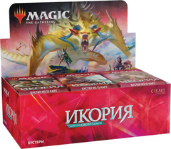 Икория Логово Исполинов - дисплей бустеров + карта Buy-a-Box Magic The Gathering РУС