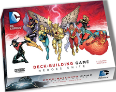 DC Comics Deck-Building Game: Heroes Unite USED