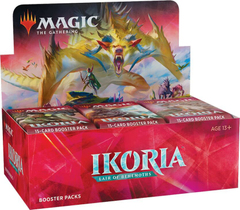 Ikoria Lair of Behemoths - дисплей бустеров + карта Buy-a-Box Magic The Gathering АНГЛ