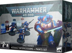 Набор Space Marines: Assault Intercessors + Paints Set Warhammer 40000