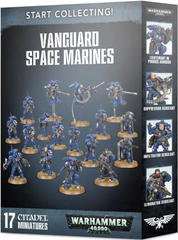 Start Collecting! Vanguard Space Marines Warhammer 40000