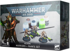 Набор Necrons: Warriors + Paints Set Warhammer 40000