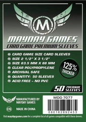 Протекторы Mayday (63.5x88 mm) Premium Card Game (50 шт)