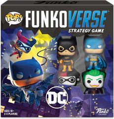Funkoverse Strategy Game: DC #100 4-Pack