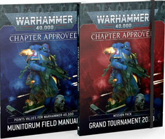 Книга Warhammer 40000 Chapter Approved: Grand Tournament 2020 Mission Pack and Munitorum Field Manual