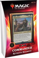Commander Deck Ruthless Regiment - Ikoria Lair of Behemoths Magic The Gathering