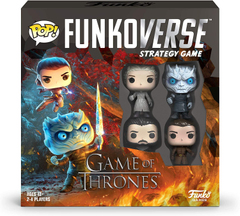 Funkoverse Strategy Game: Game of Thrones #100 4-Pack
