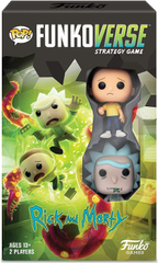 Funkoverse Strategy Game: Rick & Morty #100 2-Pack