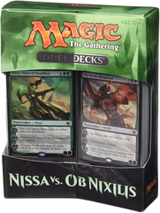 Дуэльный набор Duel Decks: Nissa Vs. Ob Nixilis - Magic The Gathering