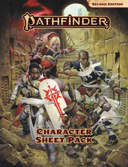 Pathfinder 2E RPG: Character Sheet Pack